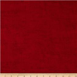 Moda Rustic Weave Rich Red Fabric