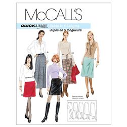 McCall's Misses' A-Line Skirts In Five Lengths Pattern