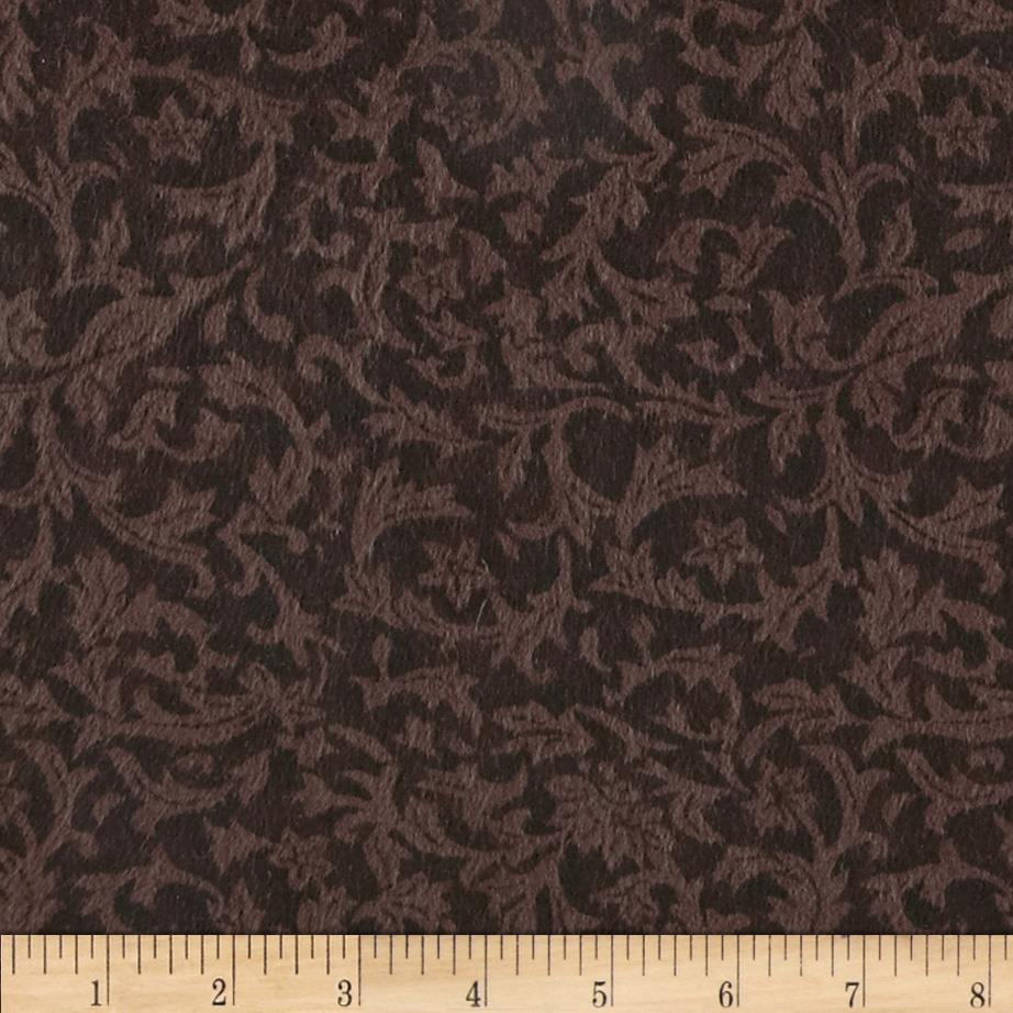 "110"" Wide Flannel Leaf Brown"