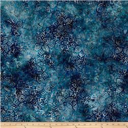 Anthology Batik Large Floral Blue/Blue