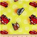 Disney Cars Wheels Sunshine
