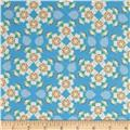 Missouri State Flower Hawthorn Blue/White
