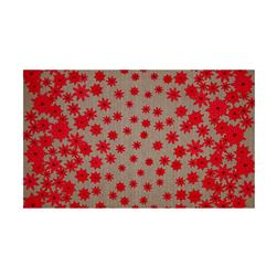 Moda Winters Lane Poinsettias Grey