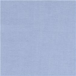 Kaufman Career Oxford Yarn Dyed Sky Fabric