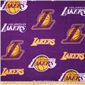NBA Fleece Los Angeles Lakers Toss Purple