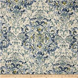 Duralee Home Quentin Damask Blue/Green