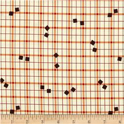 Denyse Schmidt Hadley Tossed Square Plaid Lantern Fabric