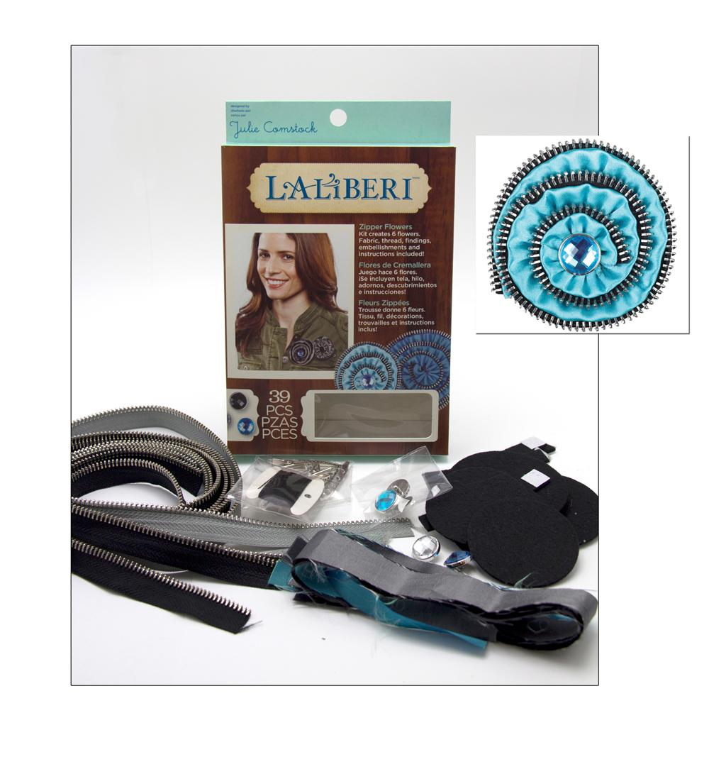Laliberi Flower Zipper Kit Dark
