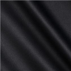 Stretch Cotton Poly Satin Black