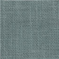 47'' Shalimar Burlap Billow Blue Fabric