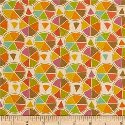 Frippery Wheels Cream/Multi
