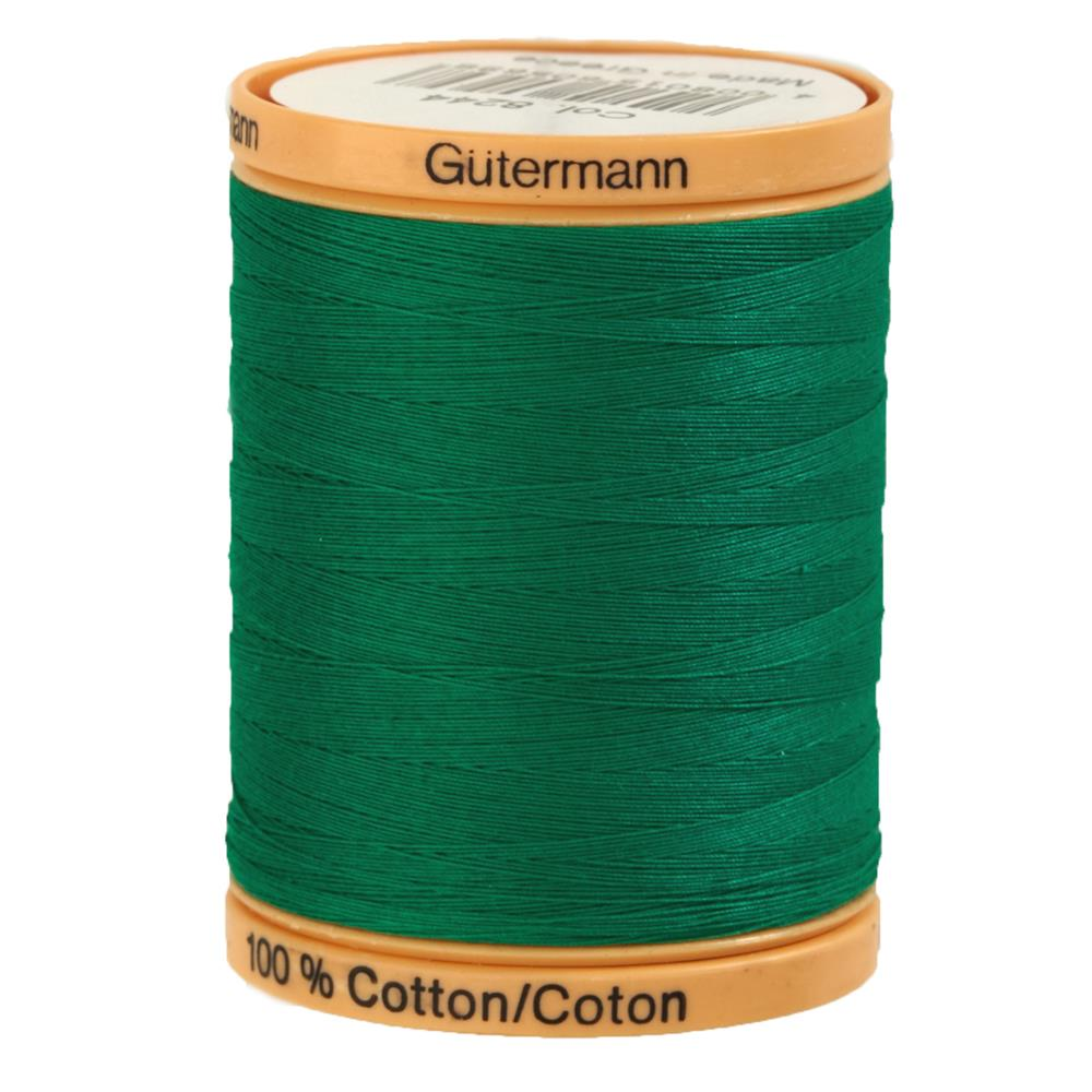 Gutermann Natural Cotton Thread 800m/875yds Garden Green