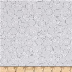 Kitchen Love Beaded Circles Light Gray