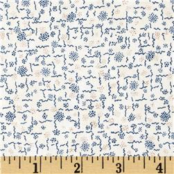 Penny Rose 19th Century Shirtings Squiggles Navy