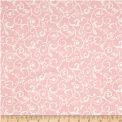 Moda Lily & Will Revisited  Flannel Swirls Pink