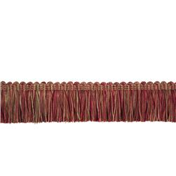 "Trend 2"" 03215 Brush Fringe Raspberry"