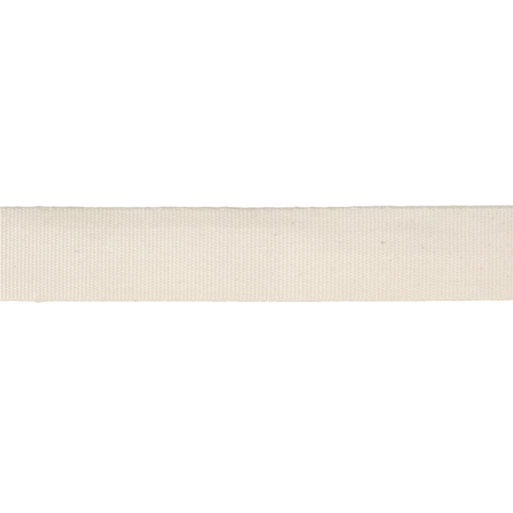"5/8"" Faux Canvas Ribbon Ivory"