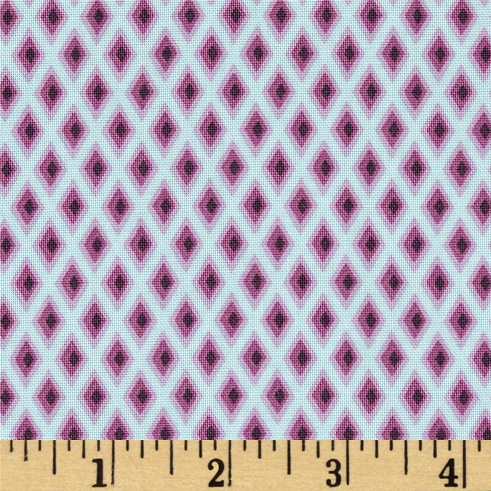 Tula Pink Elizabeth Tudor Windows Plum
