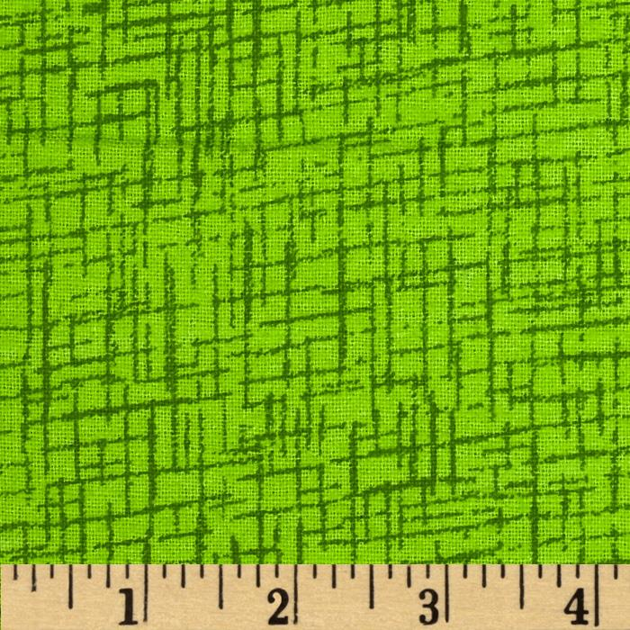 110 In. Wide Quilt Back Betula Flannel Lime Fabric