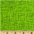 110 In. Wide Quilt Back Betula Flannel Lime