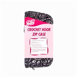 Bates Sueded Microfiber Zip Crochet Hook Case