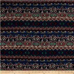 Hatchi Sweater Knit Aztec Print Multi