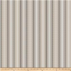 Fabricut Barbari Stripe Satin Jacquard Cloud