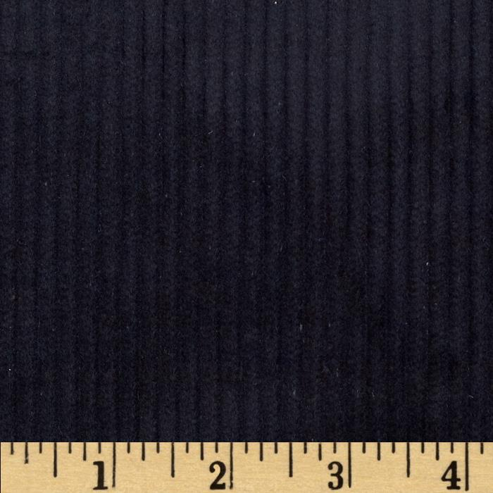 Wide Wale Corduroy Black