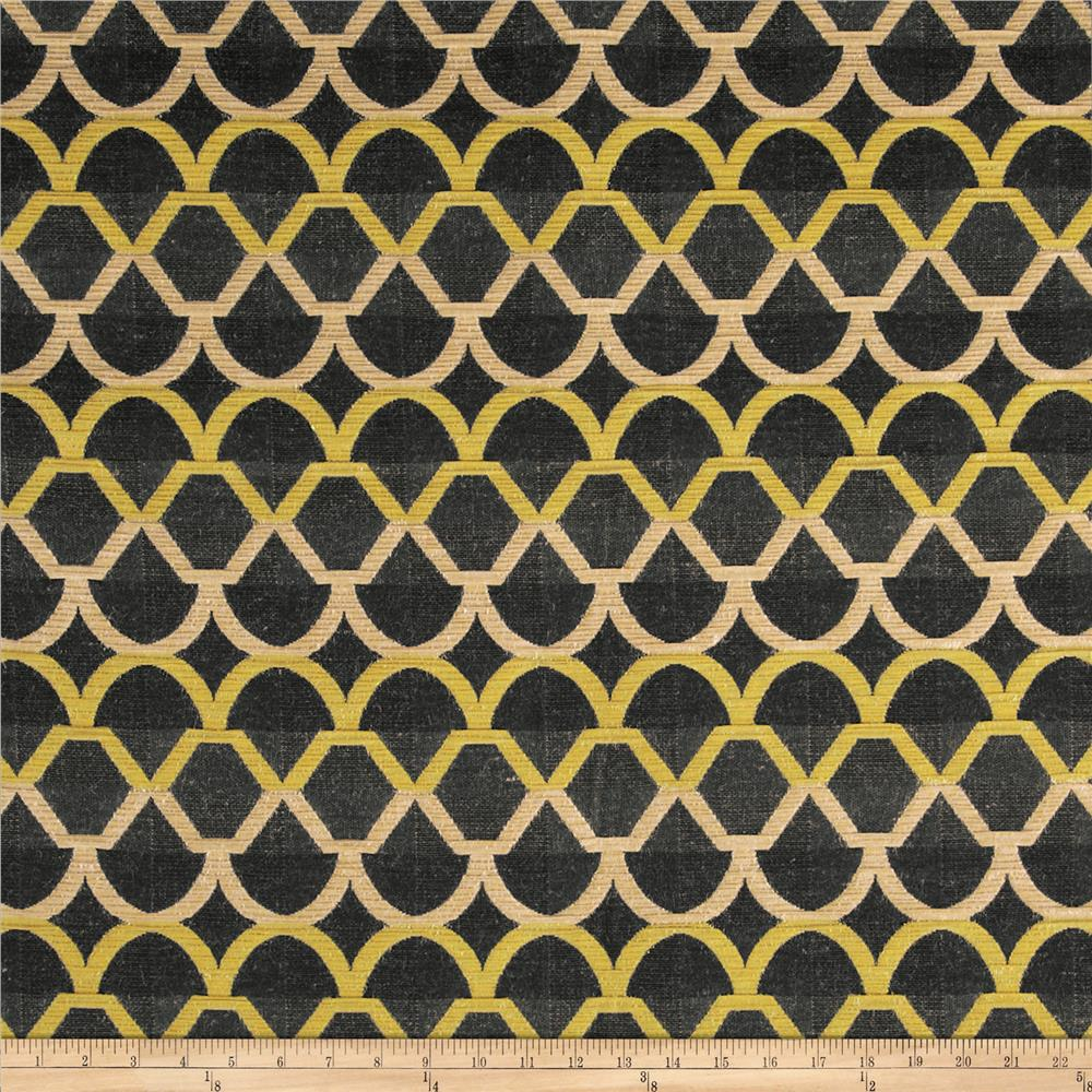Robert Allen Promo Together Jacquard Honeysuckle