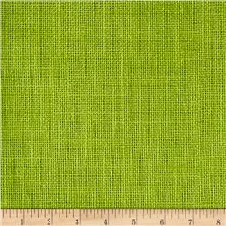 Premier Prints Burlap Lime Green