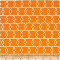 Riley Blake Apricot & Persimmon Apricot Criss Cross Orange