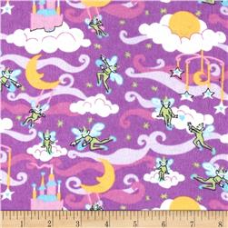 Flannel Prints Elves Lilac