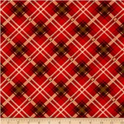 Moose Lodge Plaid Red/Brown