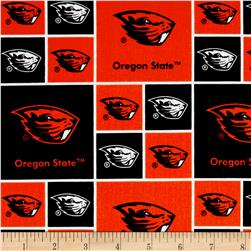 Collegiate Cotton Broadcloth Oregon State University