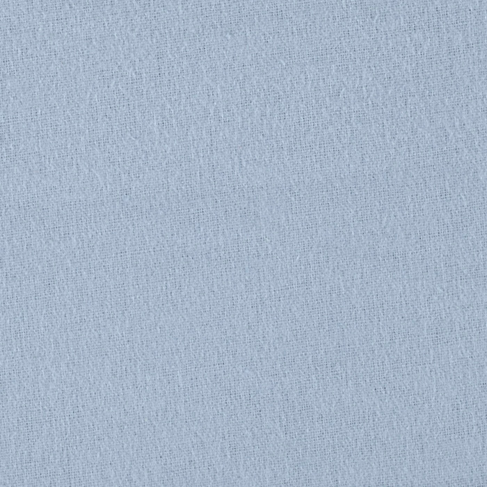 Comfy Double Napped Flannel Sky Blue Fabric