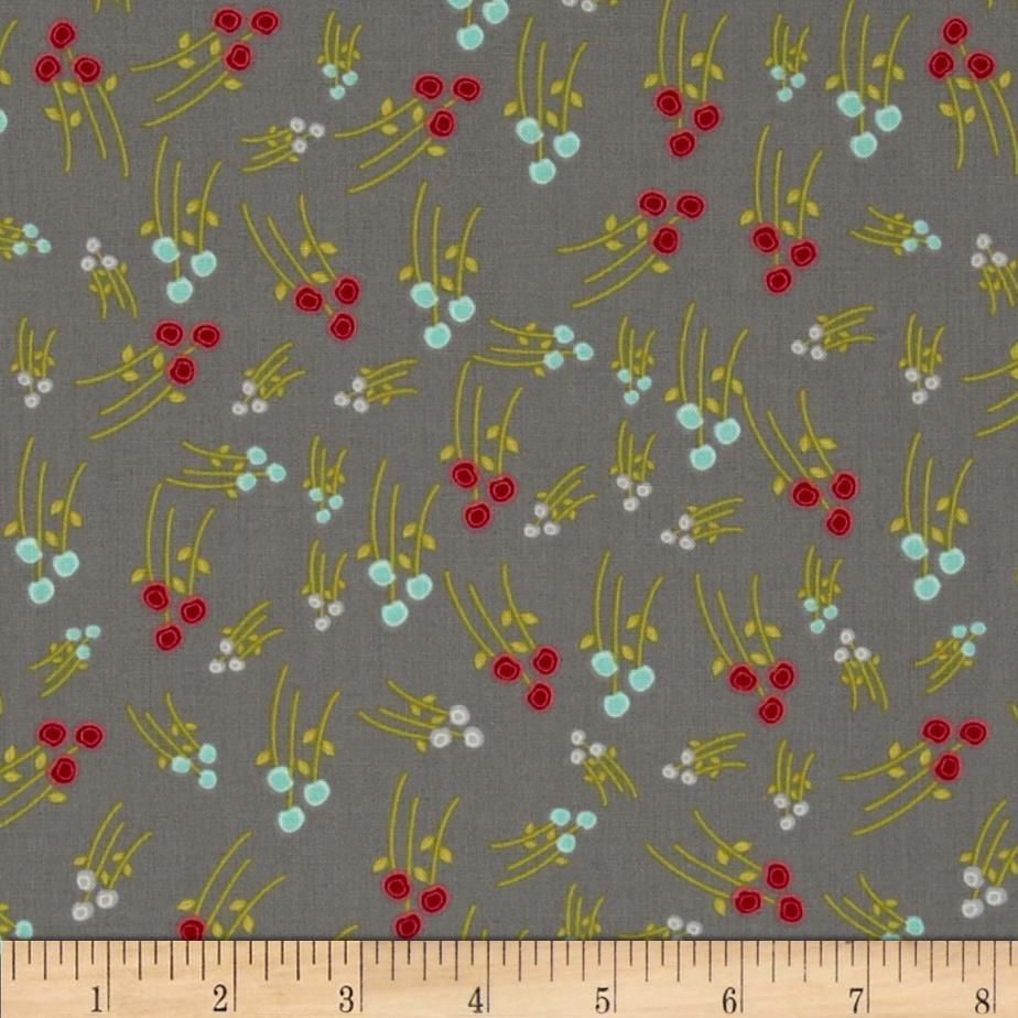 Sweet Harmony Mini Floral Grey