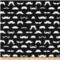 Merry Mustaches Mustache Black