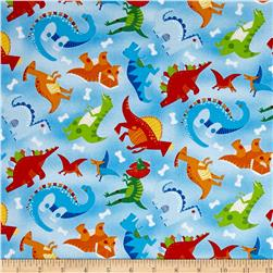 Dandy Dinos Toss Dinos Light Blue