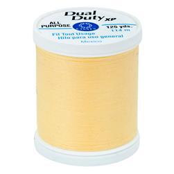 Coats & Clark Dual Duty XP 125 yd Yellow