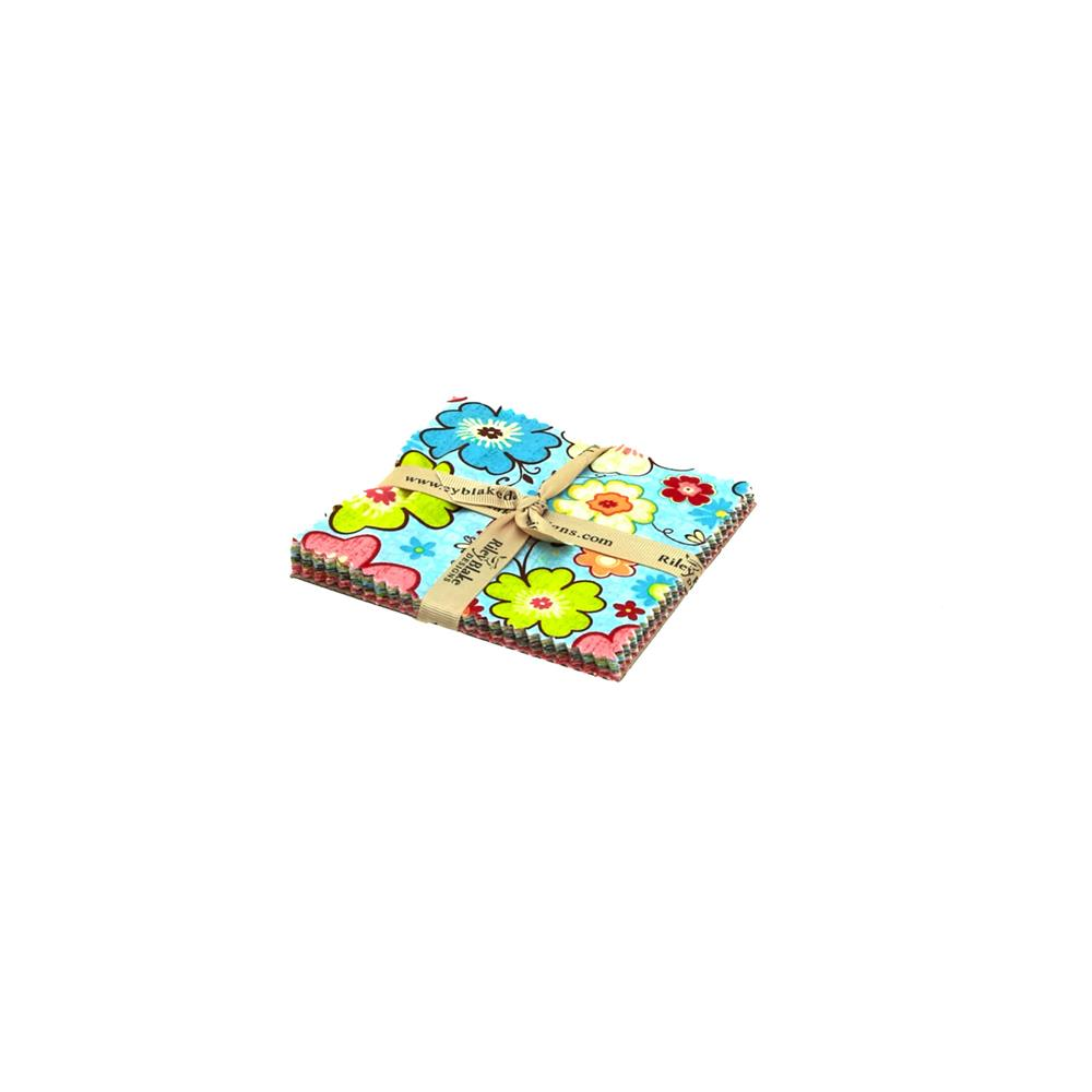 Riley Blake Happy Flappers 5-Inch Stackers