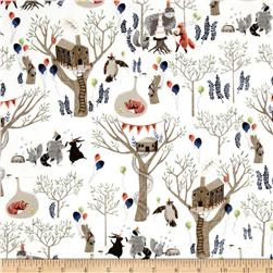 Dear Stella Nocturnal Dreams Flannel Treetop Party Multi