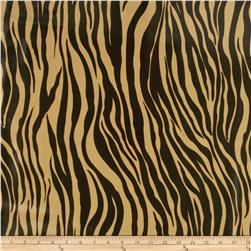 Oil Cloth Zebra Brown