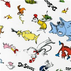 Celebrate Seuss! Tossed Characters White