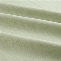 European 100% Washed Linen Seafoam
