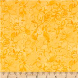 Moda Nanette Leaves & Vines Butterscotch