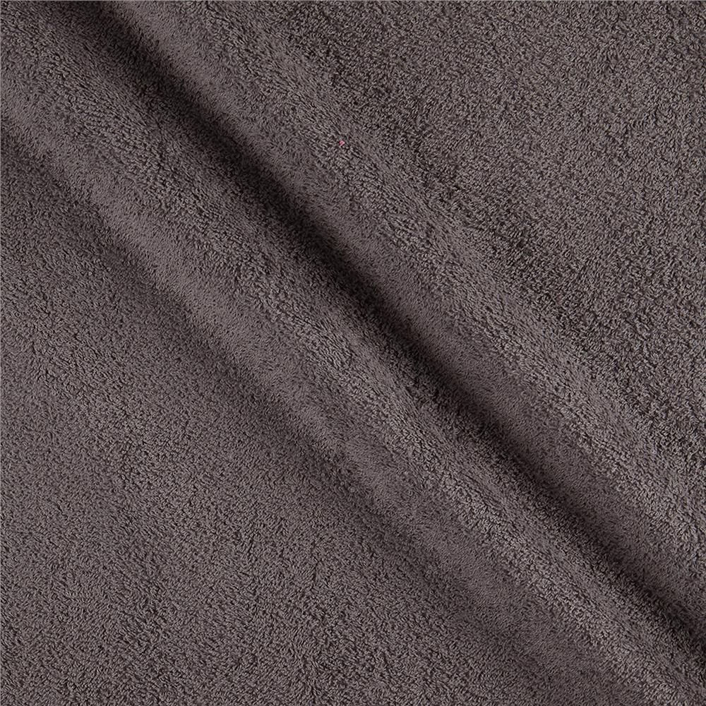 Shannon Terry Cloth Cuddle Solid Charcoal