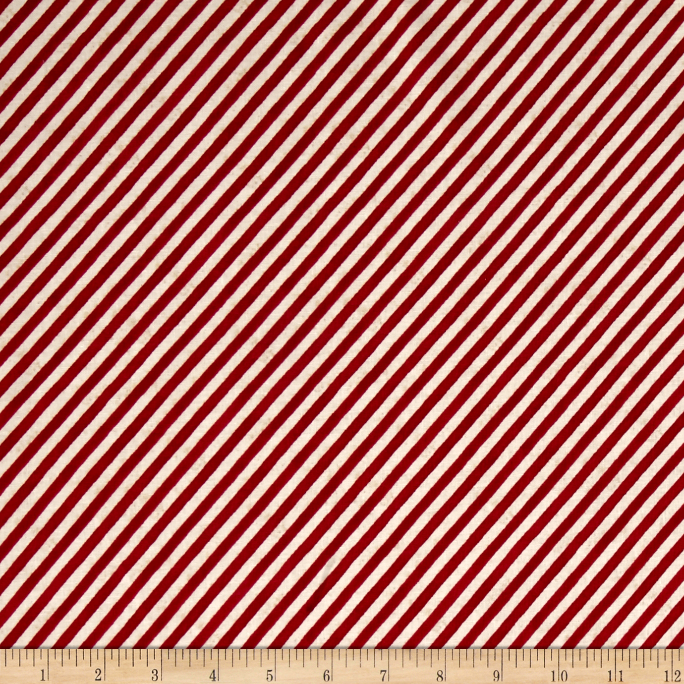 Theory Of Aviation Stripe Red Fabric