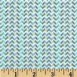 Little Tinies Chevron Stripe Taupe