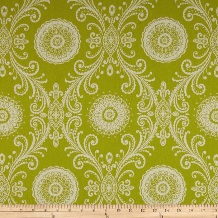 Waverly Reflective Twill Green Tea