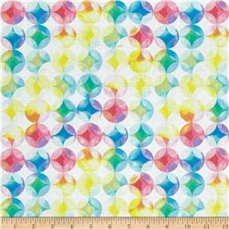 Kanvas Blocks Of Brillance Mottled Circles White/Pastel